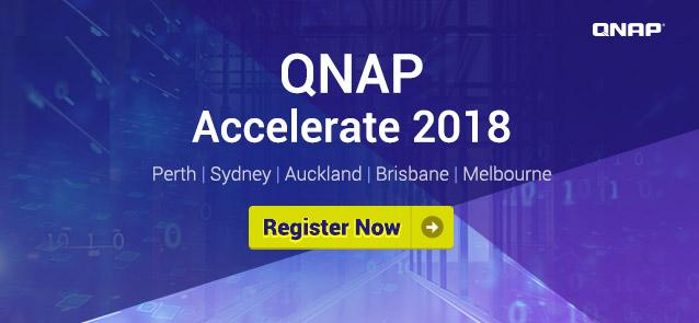 QNAP Accelerate 2018