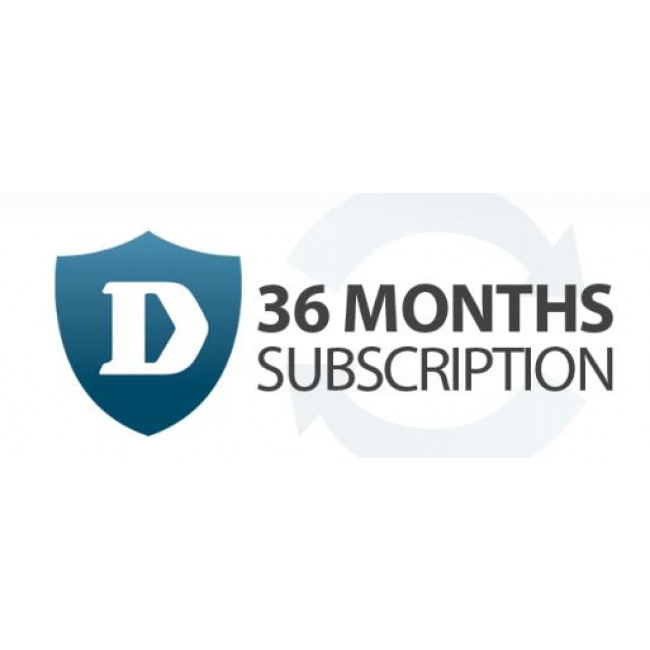 Dlink 36 Month Application Control Subscription Licence for DFL-260
