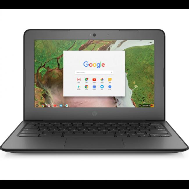 """HP Chromebook 11 G6 EE (3QL24PA) Cel-N3350 4GB(Onboard) 32GB-Flash 11.6""""(1366x768) WLAN+BT Webcam ChromeOS-64b 1YR Warranty"""