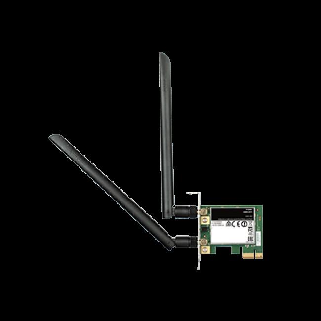 D-Link DWA-582 Wireless AC1200 Dual Band PCIe Desktop Adapter