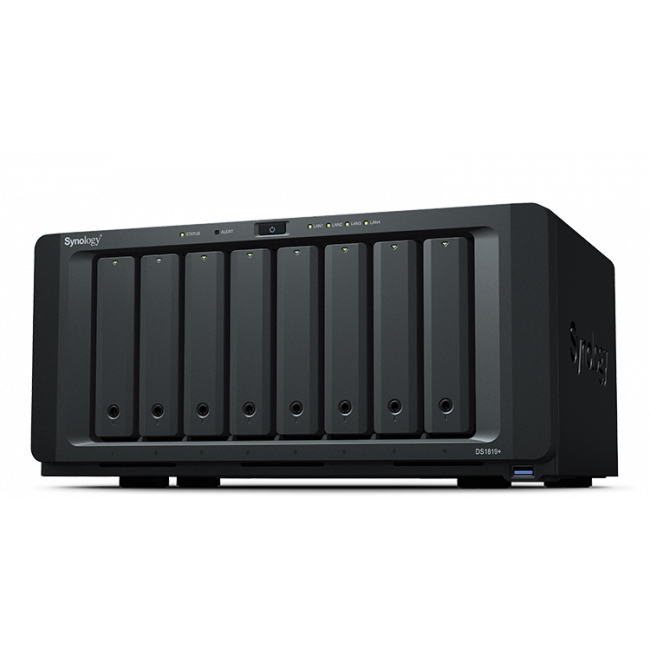 Synology DS1819+ 4GB DiskStation 8-Bay Scalable NAS