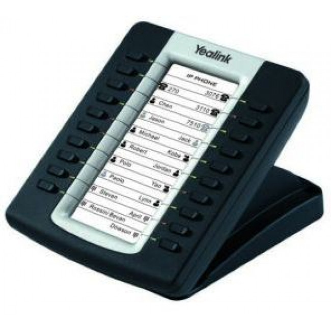 Yealink EXP20 - Yealink expansion board for SIP-T27P/SIP-29G, LCD screen, 20 Dual LED's. Supports up to 6 units
