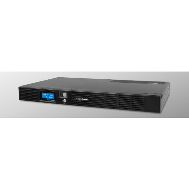 CyberPower Smart App Office Rackmount Series LCD 1000VA / 600W 1U Line Interactive UPS(OR1000ELCDRM1U) 2 Yrs Adv. Rep & 2yrs on Int. Battery