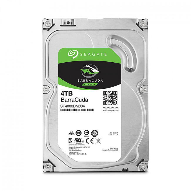 SEAGATE BARRACUDA 4TB DESKTOP 3.5IN 6Gb/S SATA 64MB
