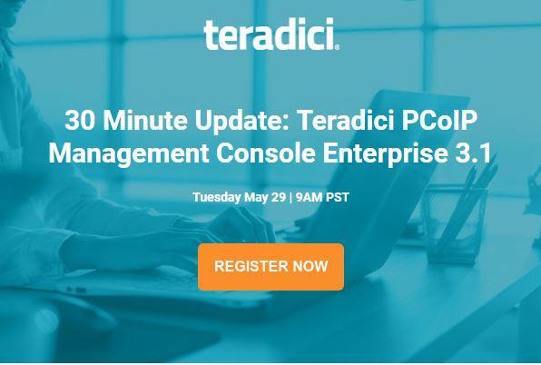 Teradici: PCoIP Management Console Enterprise